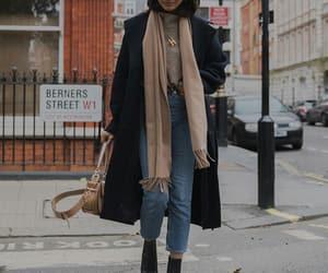fashion, coat, and fall image