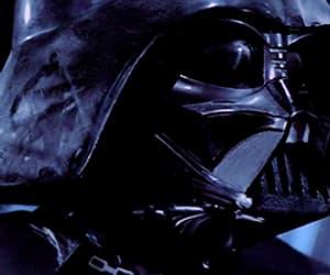 darth vader, star wars, and gif image
