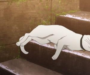 anime, anime girl, and anime cats image