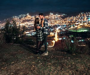 couple, instagram, and lights image