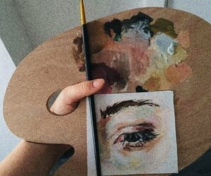 art, aesthetic, and eye image
