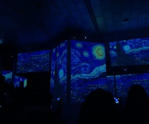 van gogh, the starry night, and van gogh alive image