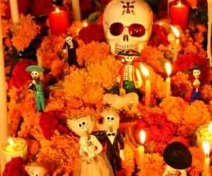 random, aesthetic, and dia de los muertos image