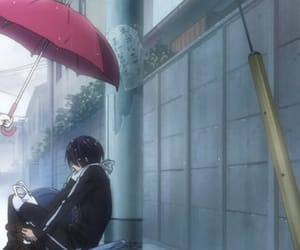 couple, anime couple, and noragami image