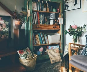 home, vintage, and books image