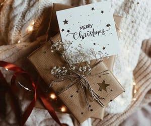 christmas, holiday, and gift image