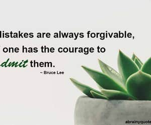 bruce lee, forgive, and mistakes image