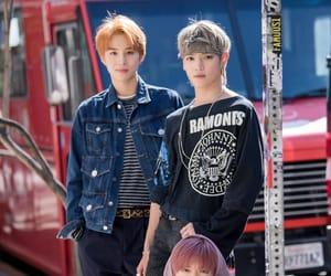 jungwoo, taeyong, and yuta image