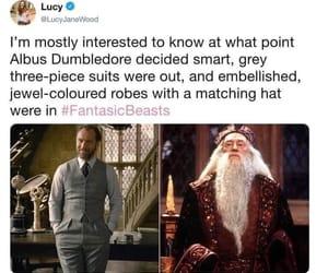 books, film, and dumbledore image