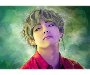 army, art, and kpop image