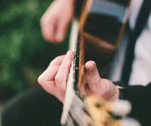 guitar, music, and song image