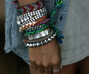 fashion, bracelet, and jewelry image