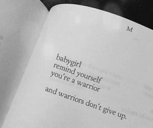 quotes, girl, and warrior image