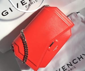 handbag, luxury, and red image
