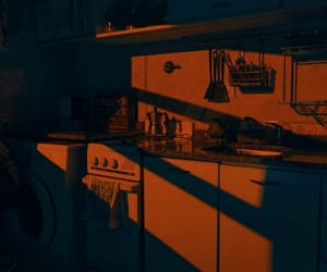 atmosphere, black, and kitchen image