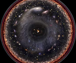 universe, galaxy, and space image