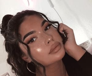beauty, pretty girls, and makeup goals image