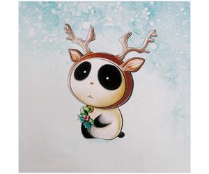 christmas and panda image