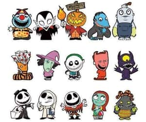 sally, characters, and jack image