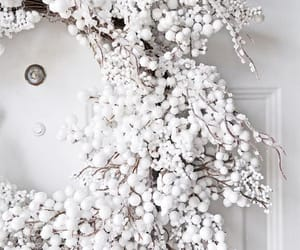white, christmas, and winter image