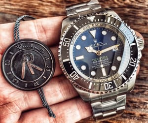 replica, rolex, and watch image