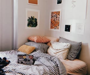 bedroom, comfy, and cozy image