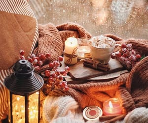 autumn, cozy, and candle image