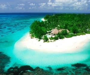 summer, Island, and beach image