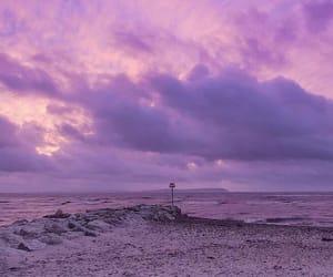 sky, purple, and lilac image
