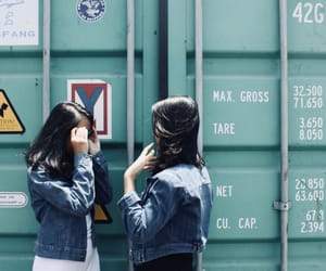 container, feed, and tosca green image