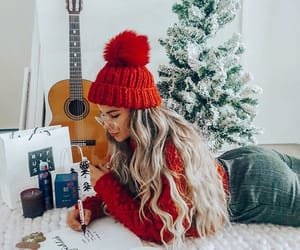christmas, girl, and beautiful image
