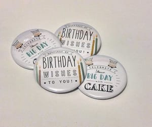 birthday, happy birthday, and pins image