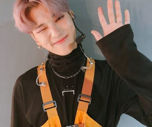 wooyoung, ateez, and kpop image