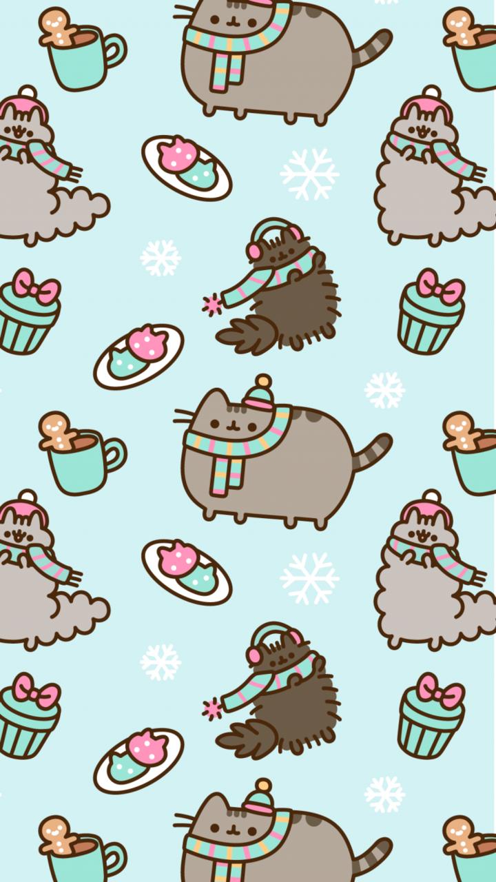 Pusheen Cat Wallpaper Discovered By Alexandralupan
