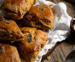 pumpkin and scones image