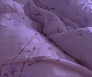 bed, blanket, and pink image