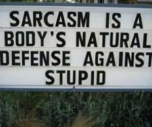 quotes, sarcasm, and defence image