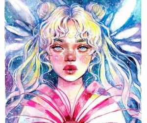 artist, creative, and girls image