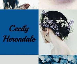 aesthetic, cecily herondale, and shadowhunters image