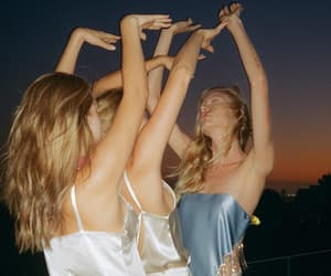 dancing, fashion, and girls image