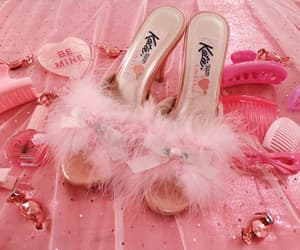 girly and pink image