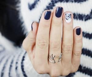 nail, nails, and polish image