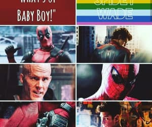aesthetic, otp, and deadpool image