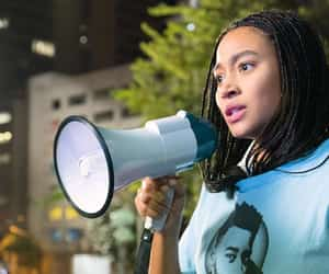 activist, police brutality, and starr image