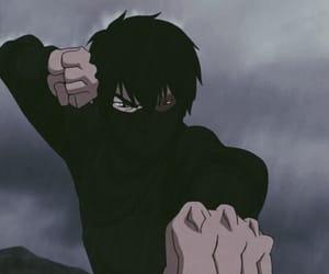 black, fighting, and rain image