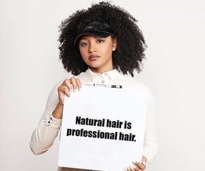 Afro and hair image