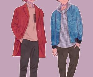 anime, boys, and manga image