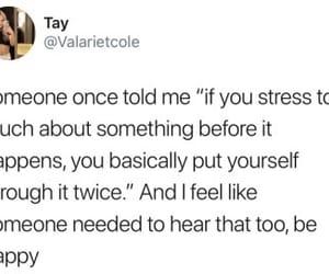 advice, anxiety, and sad image