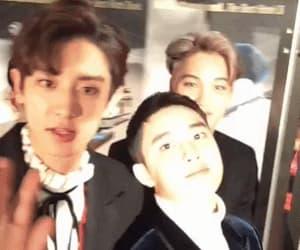 boys, kai, and sehun image