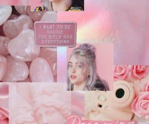 billie, pink, and wallpaper image